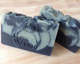 Tea Tree & Peppermint Soap with Green Clay and Activated Charcoal