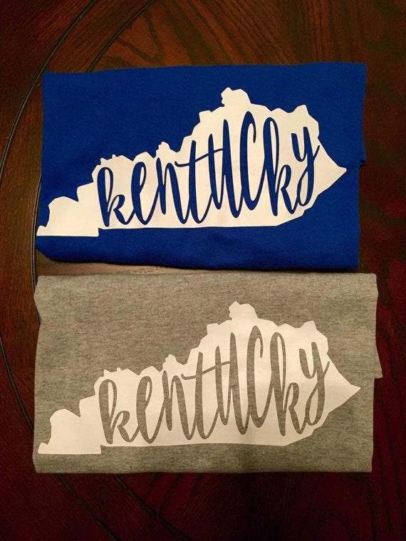 Kentucky state t shirt for Custom t shirts lexington ky
