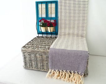 OPENING SALE!! Purple Turkish Towel Turkish Beach Towel Purple Peshtemal Turkish Bath Towel Fouta Bridesmaid Gift Wedding Gift Wedding Favor