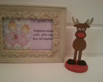Personalised baby Rudolph