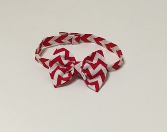 Infant and boys chevron bow ties in various colors