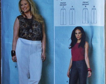 075 Butterick By Connie Crawford Women's Pants Pattern Sizes XXLarge, 1X, 2X, 3X, 4X, 5X and 6X
