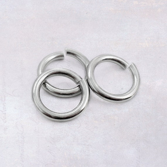 how to solder stainless steel jump rings