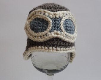 Aviator Baby Hat for Newborns
