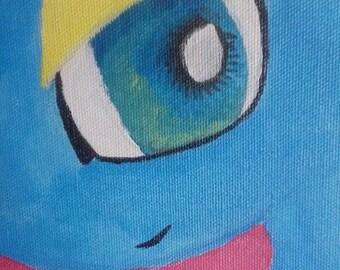 Amaura Pokemon Painting