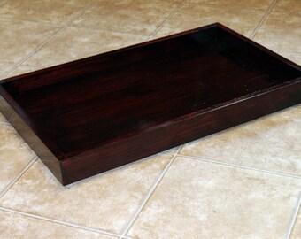 Mahogany Decorative Tray