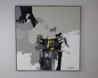 Robert Sheldon Oliver Acrylic Painting