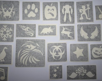 Glitter Tattoo set/kit