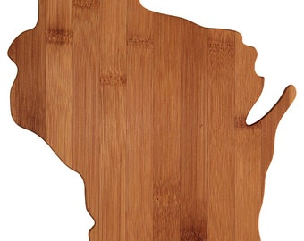 Wisconsin State Cutting Board