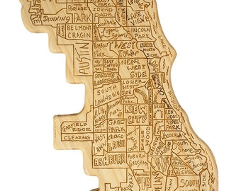 Chicago City Cutting Board