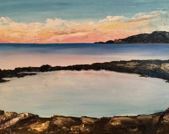 Fine Art Print of Original Tasmanian Oil Painting Limited Edition