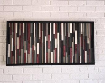 Modern Wood Wall Art- Abstract Wood Wall Art-Contemporary Wall Art, Wood Sculpture, Wood Wall Art,
