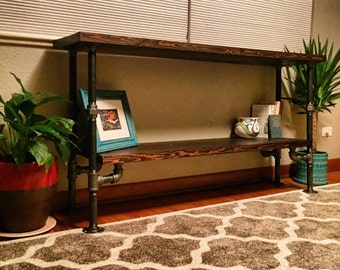 Industrial Console Table, Union Edition