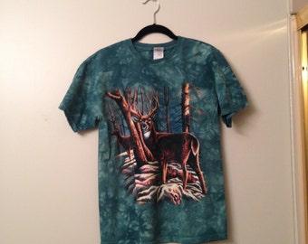 Forest Green Deer T-Shirt