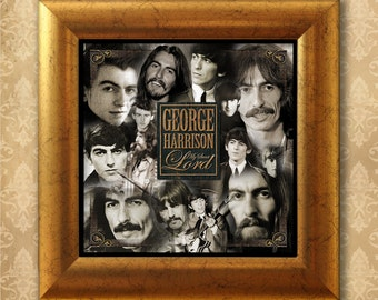 George Harrison. My sweet Lord. Framed & Unframed Limited Edition Print.
