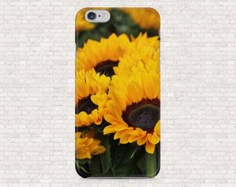 Sunflower phone case - iPhone 6, iPhone 5, Galaxy S7, Honor 8, OnePlus One, OnePlus 3, OnePlus X, OnePlus 3, Motorola Moto G2 case