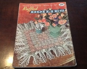 Vintage coats and Clarks doily patterns, some lily designs 123,201,208,107,209