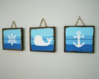 Nautical Nursery, Whale Nursery, Nautical Bathroom Decor Part 87