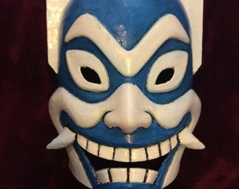 Blue spirit mask, Avatar the Last Airbender, Cosplay, 3D printed and hand painted