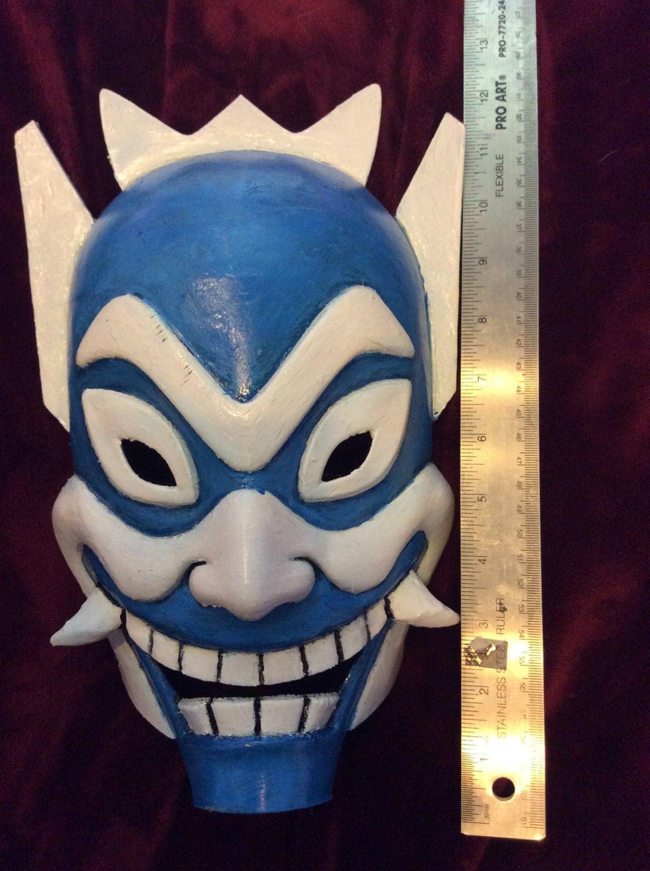 Blue Spirit Mask Avatar The Last Airbender By Happymaskprops