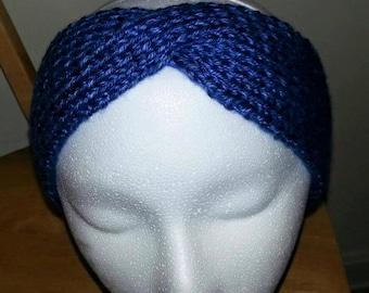 Knit Turban Style Earwarmer