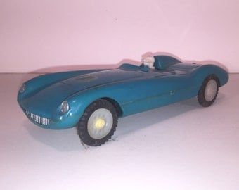 Vintage Hoda 103 Plastic Race car