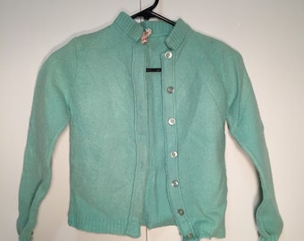1960's Donnkenny childrens cardigan sweater /// FREE SHIPPING