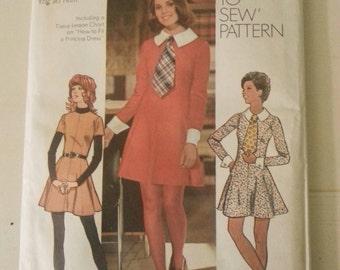 Vintage sewing pattern, vintage clothing pattern, 1970's sewing pattern, Simplicity pattern 5150, Vintage pattern, sewing pattern
