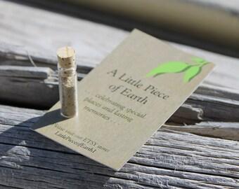 Kaka Point Beach, New Zealand, Soil, Earth, Dirt, Souvenir, Gift, Memento, Travel, Glass Vial, Memories, Special Places
