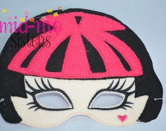 Monster high mask etsy - Masque monster high ...