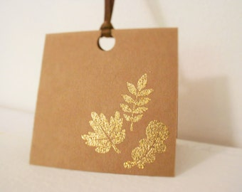 Gift Tags - Thanksgiving Gift Tags - Fall Inspired - Fall Gift Tags - Set of 10 - Thankful tags
