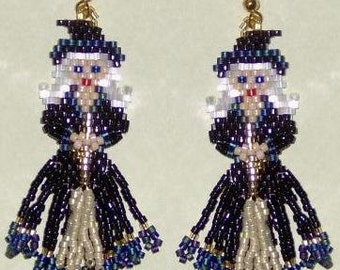 Halloween Witch Too - Beading Pattern