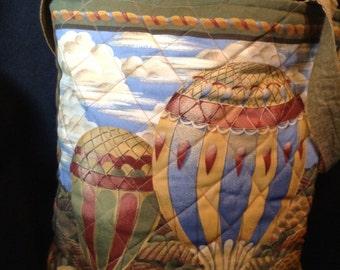 Hot Air Balloon handbag / tote bag (#2)