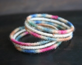 Bohemian Bangle Bracelets set of 6