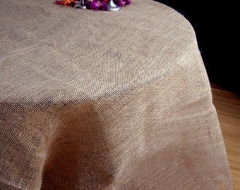 Burlap Table Cloth 60x60
