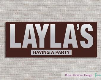 Chocolate Bar Invite, Chocolate Invitation, Chocolate Party Invite, Faux Chocolate Bar Wrapper Invite, Chocolate Birthday Invitation