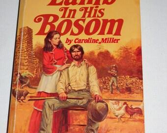 1977 Lamb in His Bosom by Caroline Miller (Pulitzer Prize Winning Novel!) Vintage paperback book