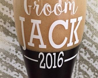 Groom and Groomsman Beer Mugs