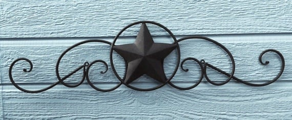 Items Similar To Star Metal Star Wall Decor Home Decor