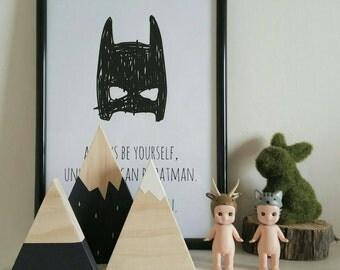 Wooden Mountain Set