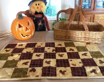 Fall Maple Leaf Table Topper-Free Shipping