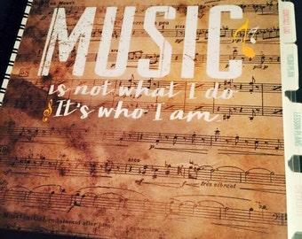 "Inspiring Grace Teacher Planner ""Music"" (2017-2018)"