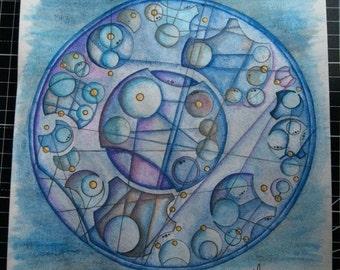 Gallifreyan Artwork - originals