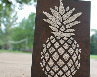 MADE TO ORDER Pineapple String Art Sign