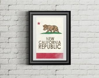 New California Republic - Fallout New Vegas - Poster