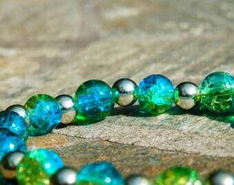 Sparkly Earth Bracelet