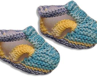 Cotton multicolor sandals