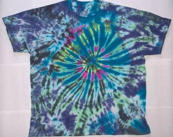Adult 3X Color Blast Tie-Dye Shirt