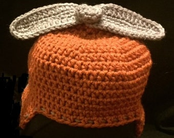 Crochet Helicopter Hat