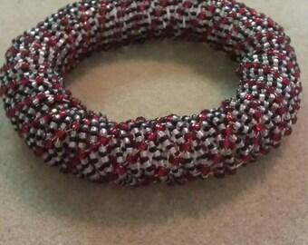 Cooper Wire Beaded  Bracelet